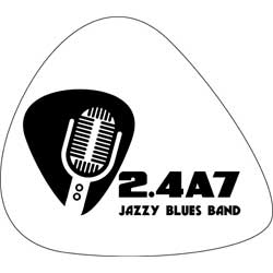 24A7 Jazzy-Blues Band logo