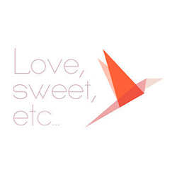 Love, sweet, etc… logo